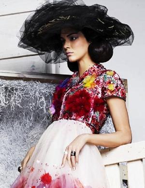 Kendall Jenner Is Almost Unrecognizable In New Harper's Bazaar Spread
