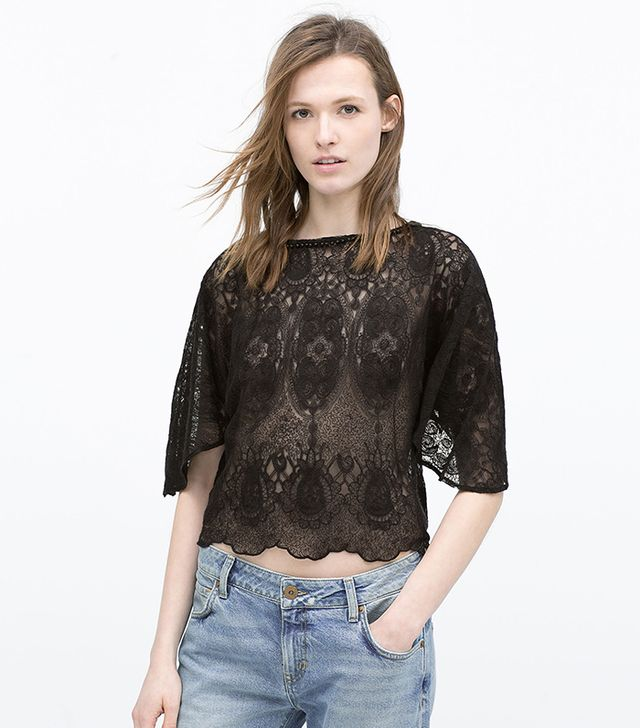 Zara Crochet Top