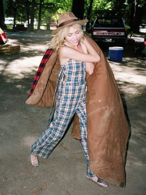 How to Look Like the Ultimate Camping Babe