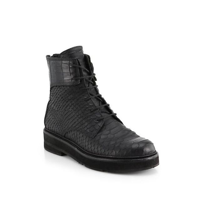 LD Tuttle The Drifter Leather Ankle Boots