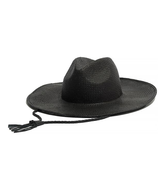 Madewell Wide-Brimmed Straw Fedora Hat
