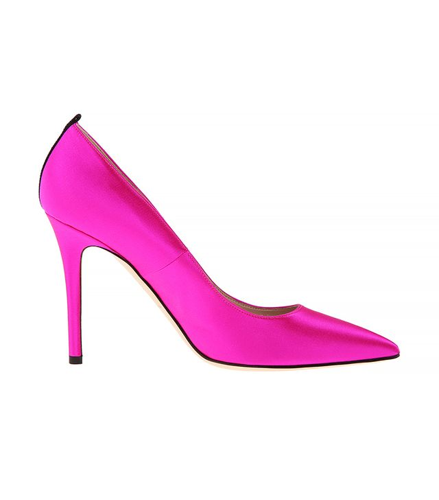 SJP by Sarah Jessica Parker Fawn in Pink Satin