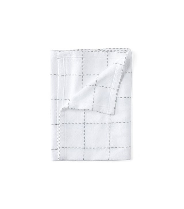 Brahms Mount Windowpane Baby Blanket