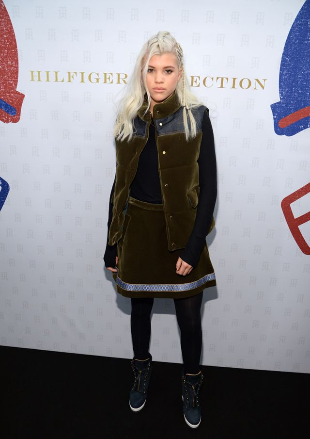 She can pull offHunger Games-chic in a way very few people can.  Sofia Richie in Tommy Hilfiger