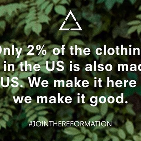 Reformation's Crazy Eco Facts