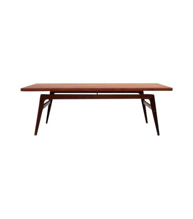 Chairish Mid-Century Modern Vintage Teak Coffee Table