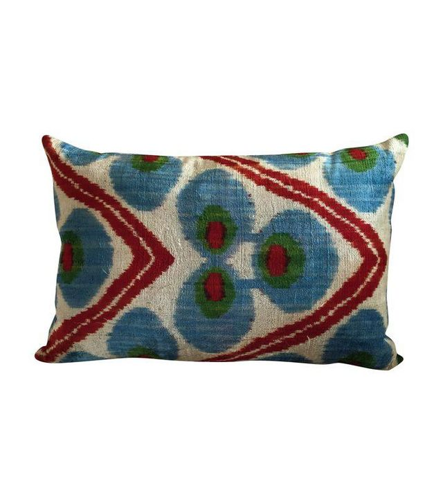 Chairish Vintage Silk Velvet Pillow
