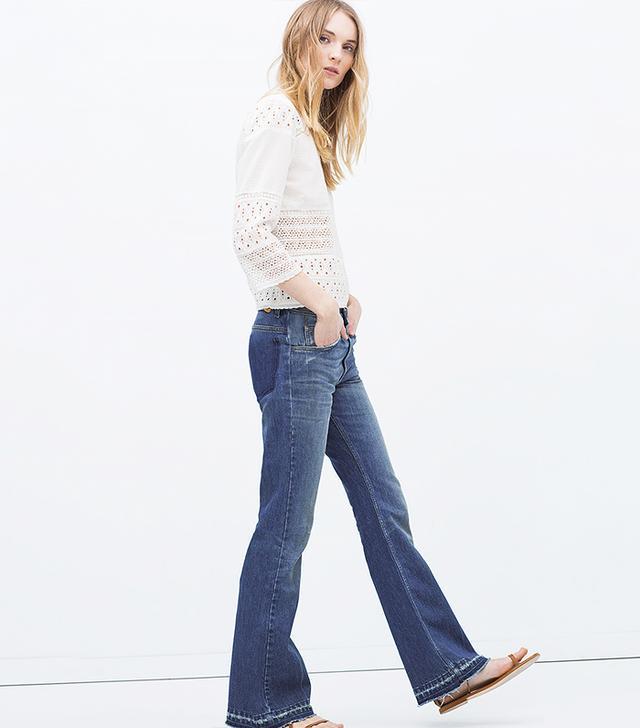 Zara Flared 70s Jeans