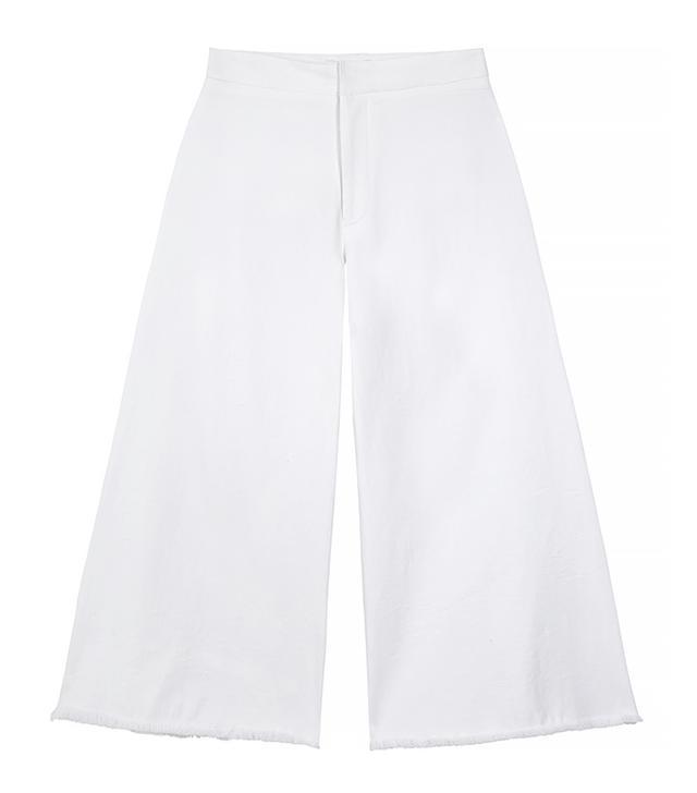 MiH Jeans Clean Stretch-Denim Culottes