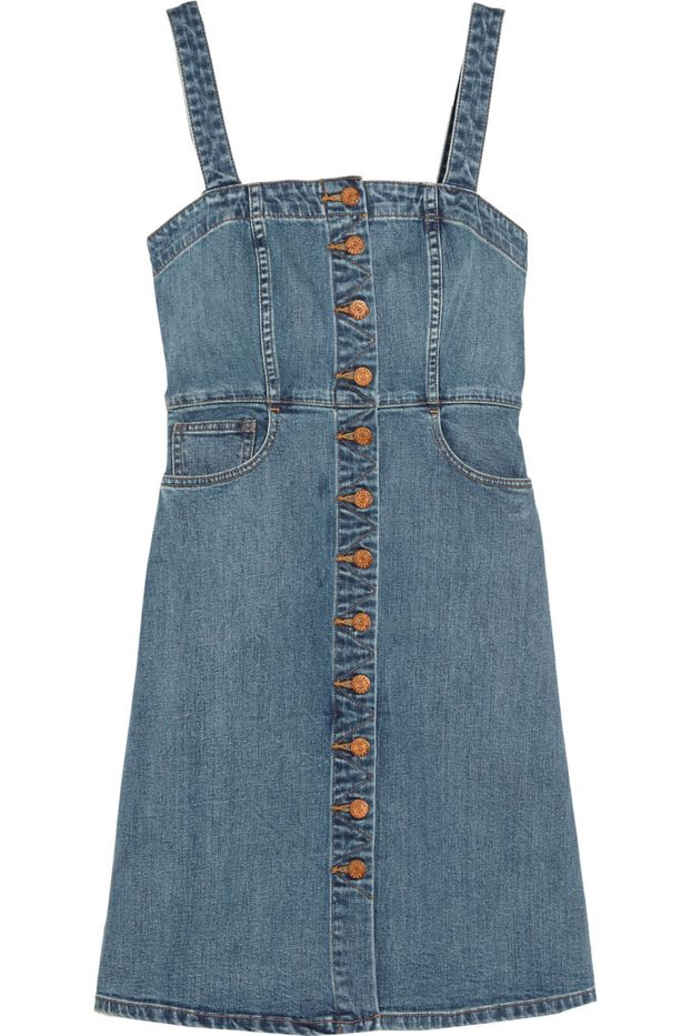 Madewell Stretch-Denim Dress