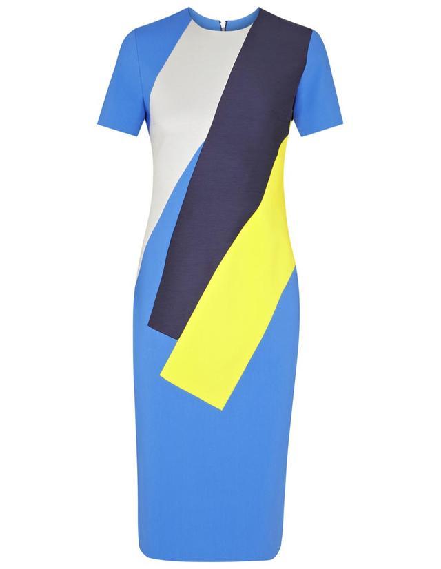 Roksanda Lockwood Paneled Crepe Dress
