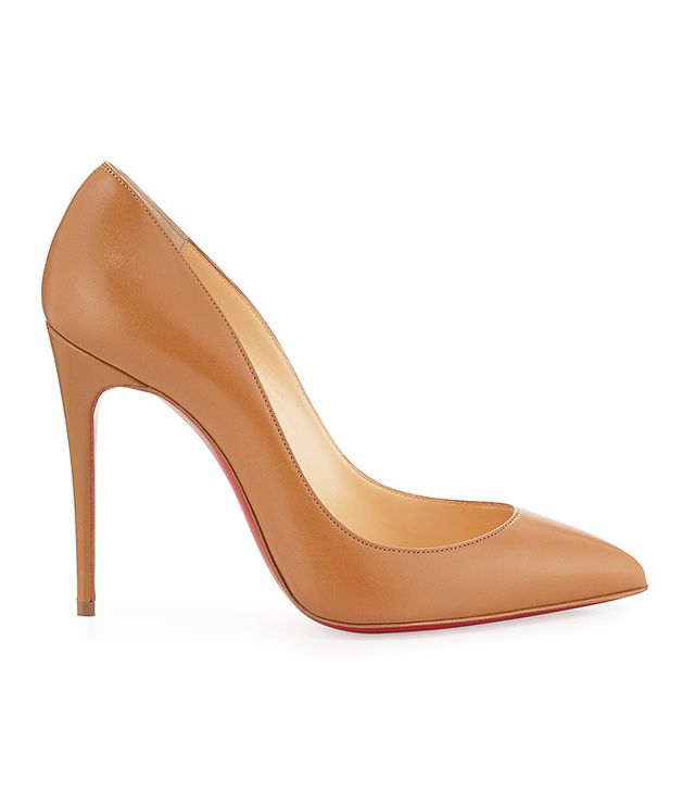 Christian Louboutin Pigalle Follies Low-Cut Point-Toe Pumps