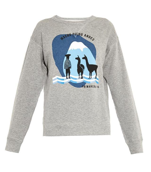 Isabel Marant Etoile Franklin Printed Cotton Sweatshirt