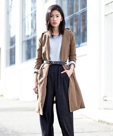 A Fresh Way to Style Your Trench Coat
