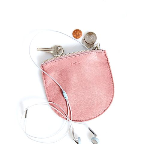 Small Leather Zip-Pouch