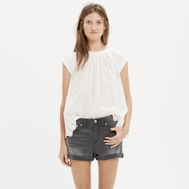 Madewell Denim Boyshorts