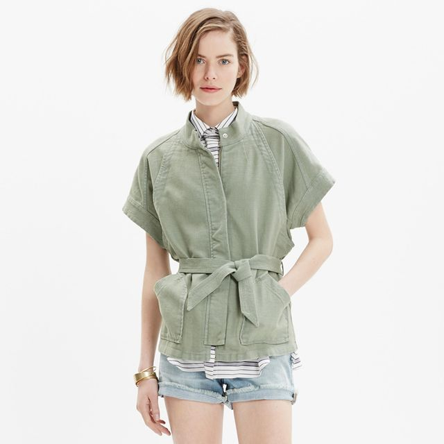 Madewell Short-Sleeve Hilltop Jacket