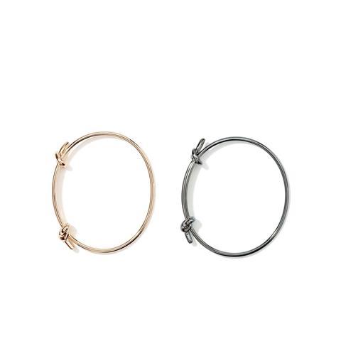 So Knotty Metal Bracelet Set