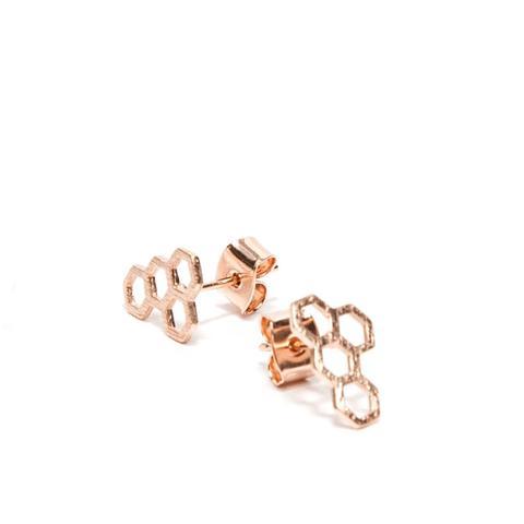 Honeycomb Earring