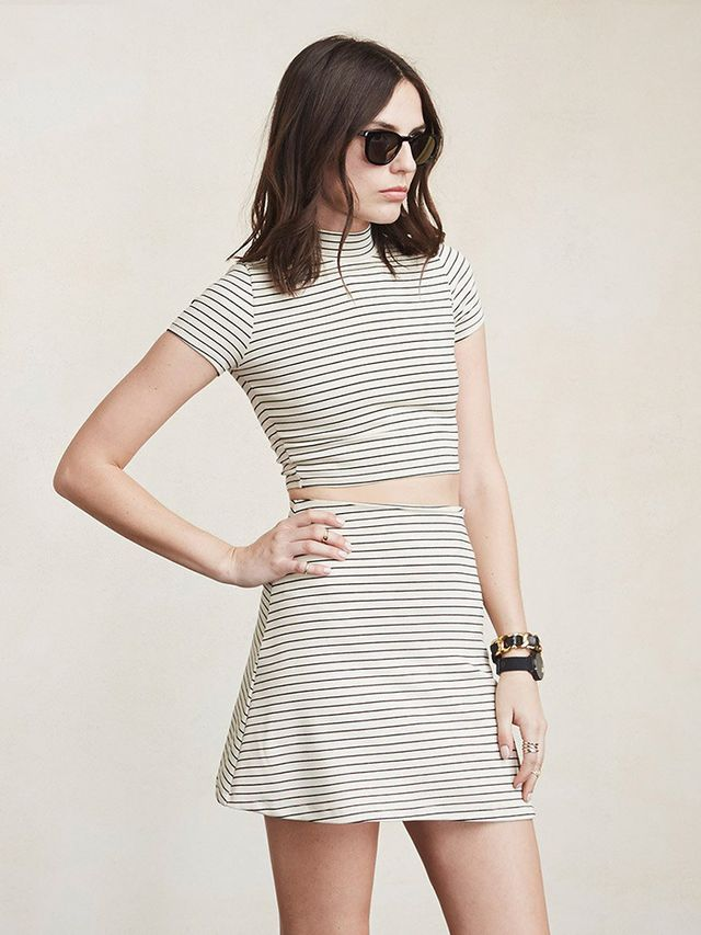 Reformation Gerry Two Piece Dress