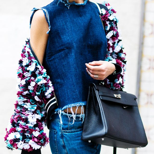What to Layer Over Your Denim-on-Denim Outfit