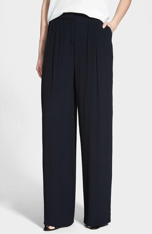 Chelsea28 Wide Leg Pleated Pants