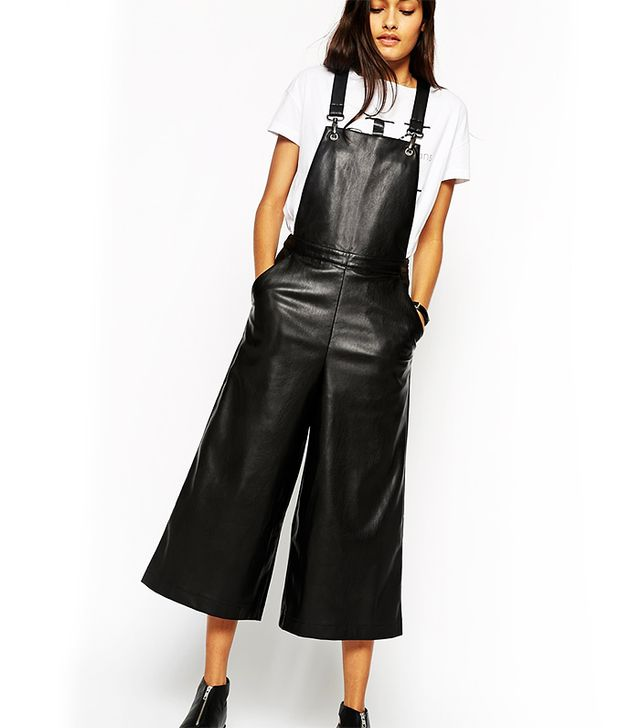 ASOS Leather Look Overalls