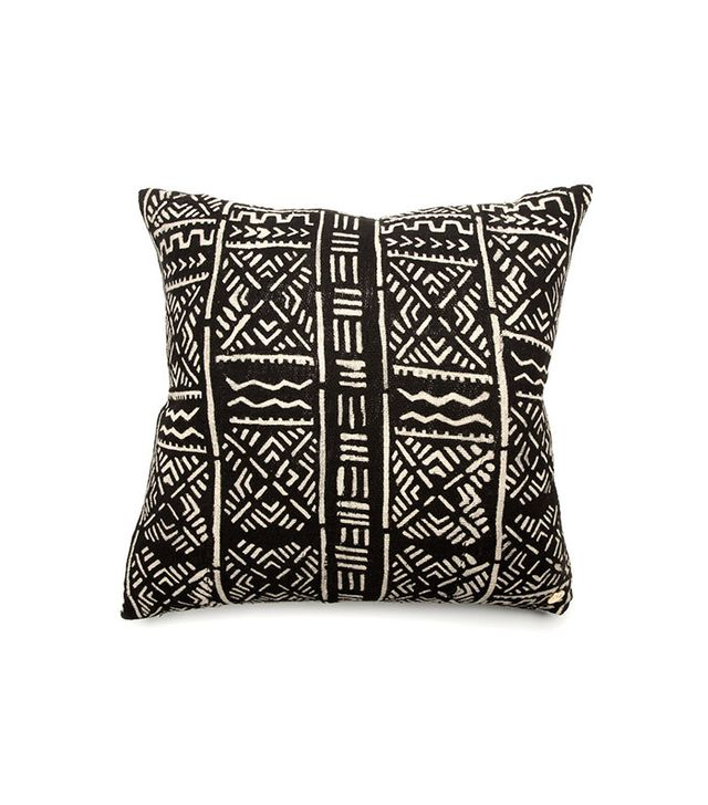 St. Frank Mud Cloth Pillow