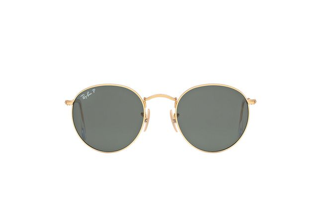 Ray-Ban RB3447 50 Round Metal Sunglasses