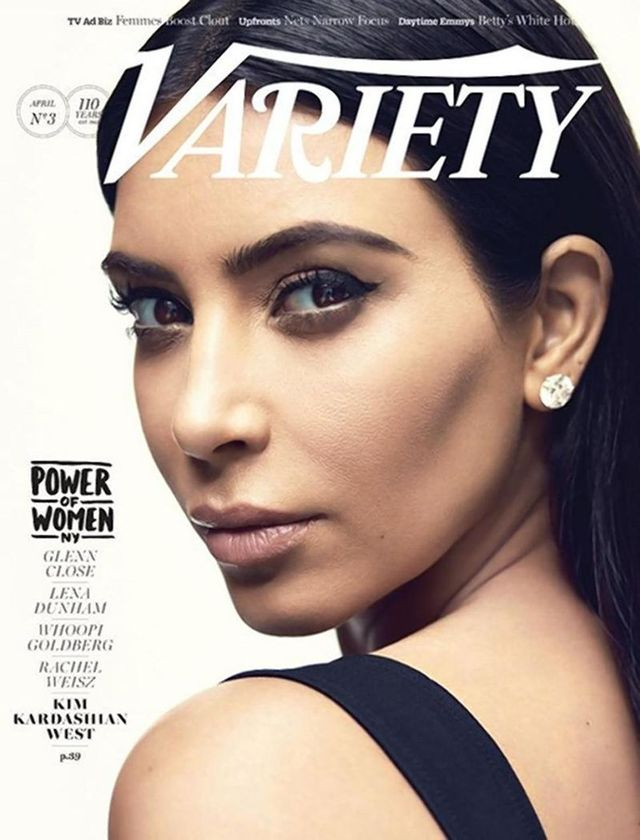 Kim Kardashian Is Officially a Woman of Power, According to 'Variety'