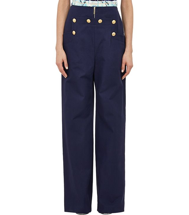 Kenzo Twill Sailor Trousers