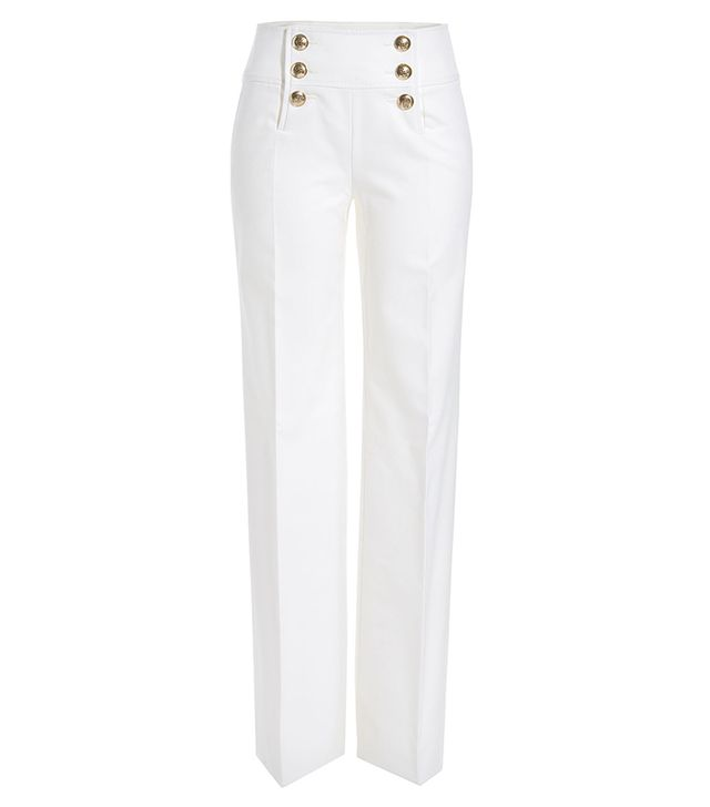 Emilio Pucci Sailor Cotton Twill Pants