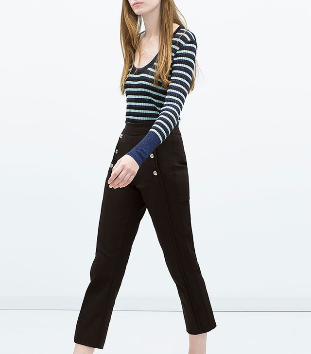 Zara Sailor Trousers