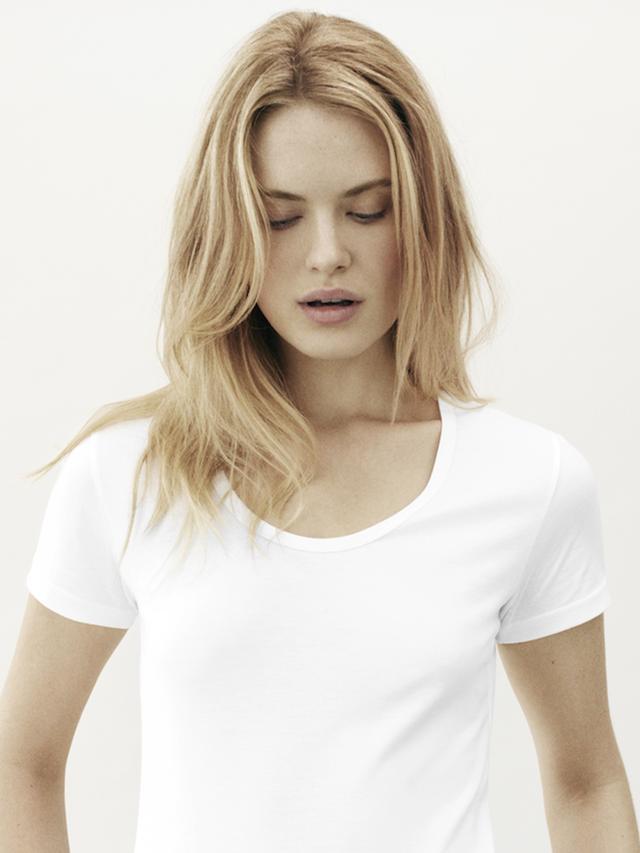 Handvaerk Casual Neck T-Shirt