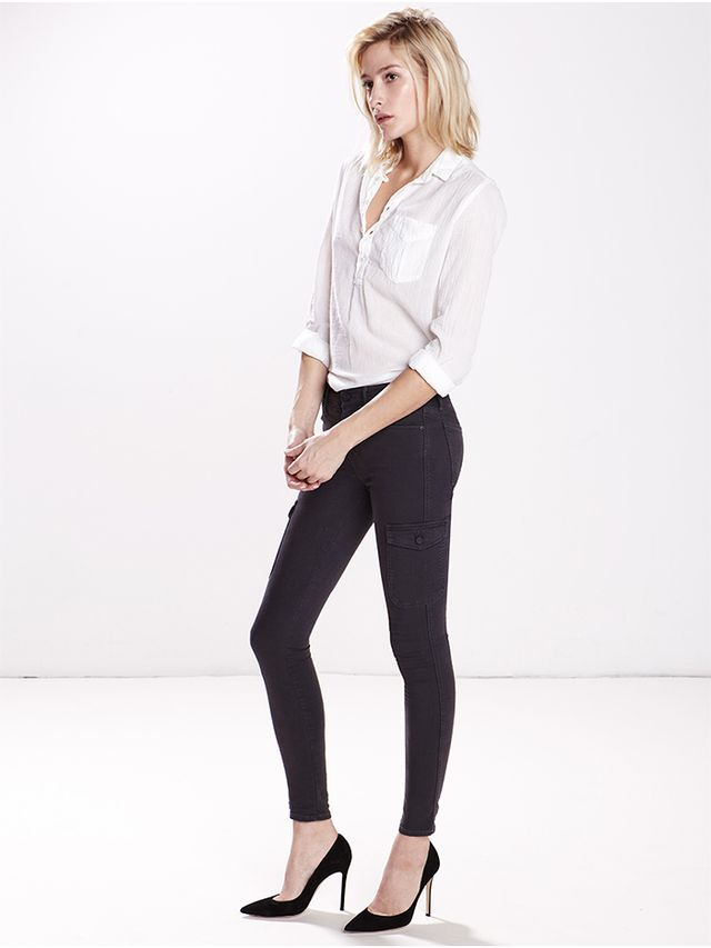 Mother Charmer Cargo Jeans