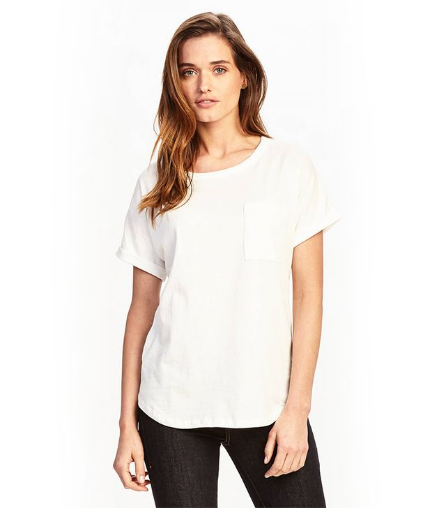 Zady .02 The T-Shirt in White