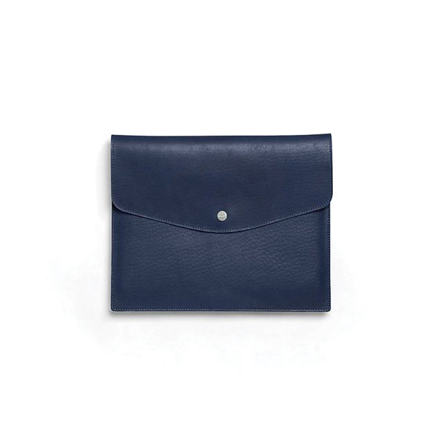 Shinola Envelope for iPad in Royal Blue