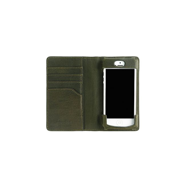 Shinola Wallet for iPhone in Spruce