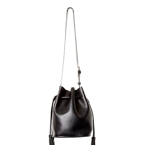 Casablanca Vegan Leather Contemporary Bucket Bag