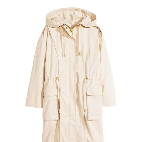 Parka in Light Beige