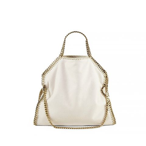 Falabella Faux-Leather Fold-Over Tote