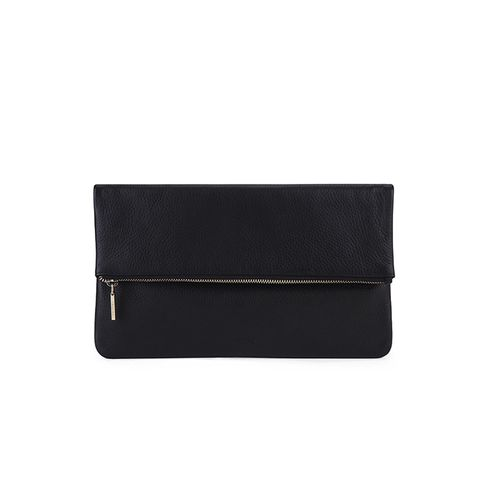Foldover Zip Clutch