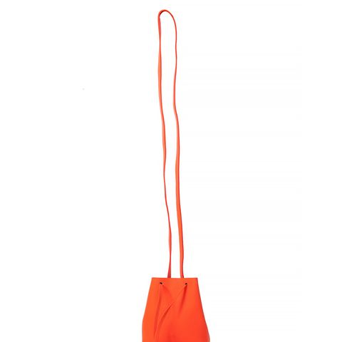 The Greta Bag in Fluorescent Orange