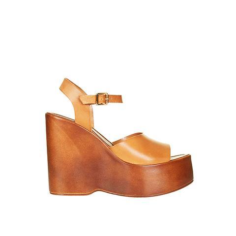 Wallflower Wedge Sandals
