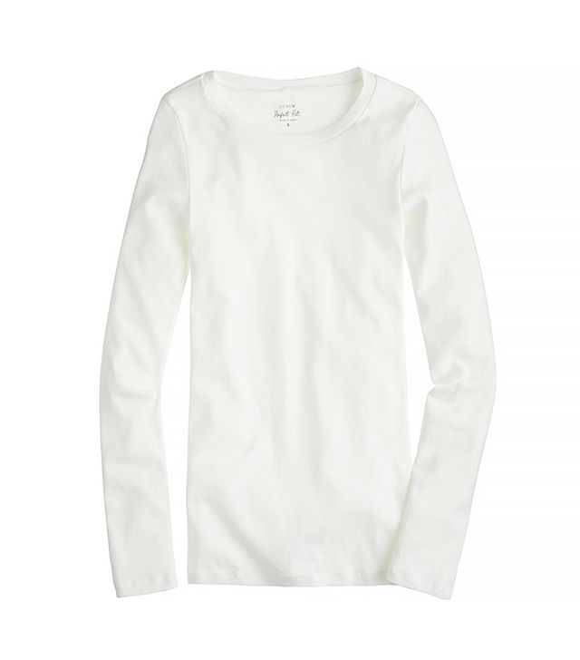 J.Crew Perfect-Fit Long-Sleeve Tee