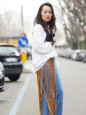 Would You Wear It? Dramatic Fringe Details
