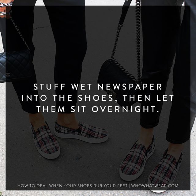 If freezing and heat-blasting them won't work, try this: Dampen some newspaper and stuff it inside the shoes;then let them sit like that overnight. The combination of moisture and the...