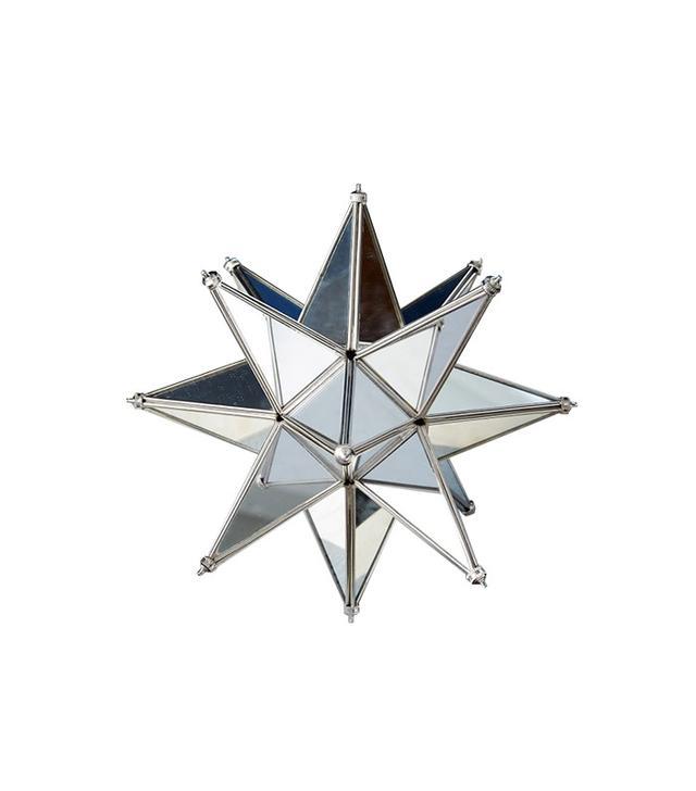 West Elm Mirrored Star