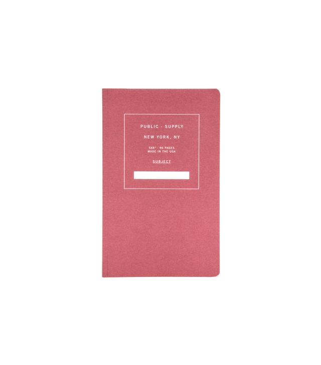 Public Supply Ruled Paper Notebook