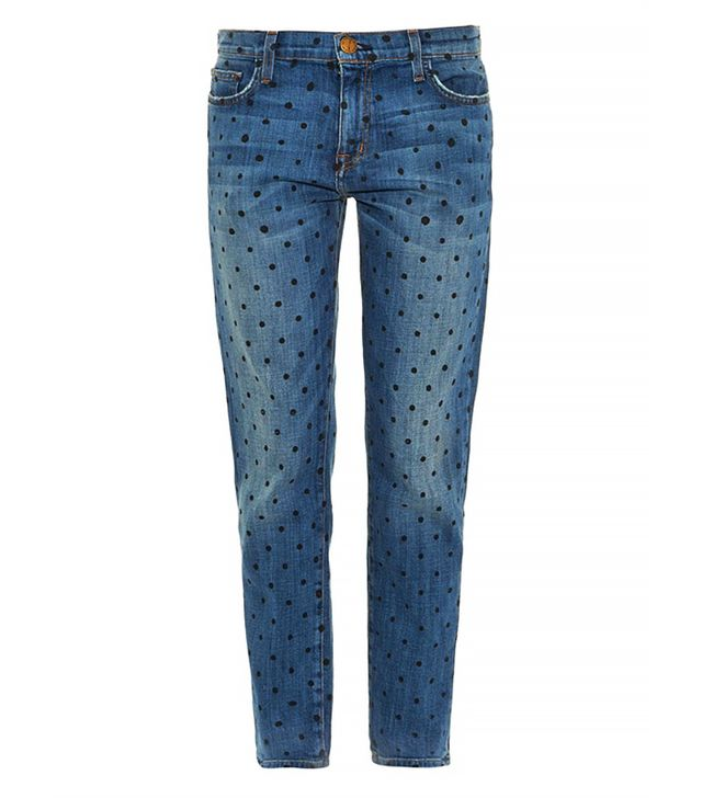 Current/Elliott Fling Mid-Rise Slim Boyfriend Jeans